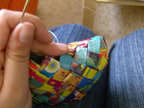 coser fondo