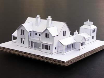 model for new house