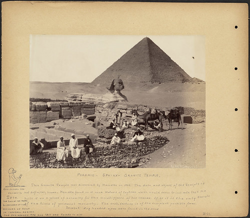 Pyramid – Sphinx – Granite Temple