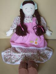 camponesa rosa (AP.CAVALARI / ANA PAULA) Tags: baby dolls arte handmade artesanato fabric bebe patchwork cor desenho quadros tecido anapaulacavalari apcavalari