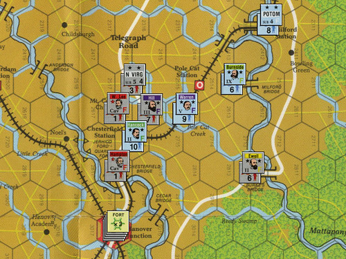 Lee vs. Grant - Scenario 5: Spotsylvania to the North Anna