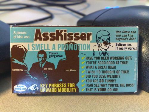 Ass kisser gum