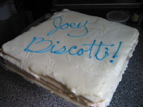 Joey Biscotti's Opera Cake