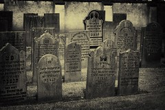 Jewish Cemetery (Guido Musch) Tags: blackandwhite netherlands cemetery sepia nikon nederland explore jewish hebrew elburg joods gelderland tamron70300 d40 guidomusch nohdrbutithinkyouallcanseethat mylasttoflickruploadedphotowithmytamronwasofaflowerthatsecretlywasa5exposurehdrbutnobodysawit thatwasanicephotoithink onlythislensisntreallygoodforflowerphotosbecauseicantmakegoodmacrophotoswithit theonlythingicouldreadwasjacobcohen