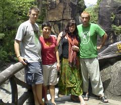 Todd, Felicia, Niamh, Babak