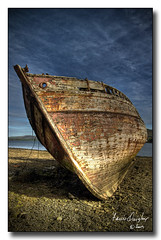 Beached (riverhouse_foto (Francis Quigley)) Tags: ireland sea sky boat ship dingle kerry hdr imagesoflight superaplus aplusphoto johnhooton carrickcameraclub carrickcameraclubmember