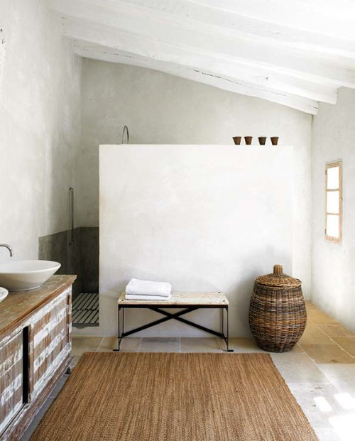 Serene Bathrooms THE STYLE FILES