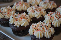 choc with cream cheese frosting