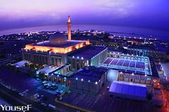 The Grand Mosque - State Of Kuwait (YOUSEF AL-OBAIDLY) Tags: artphoto رمضان supershot المسجدالكبير kuwaitphoto amazingamateur kvwc kuwaitartphoto kuwaitart kuwaitvoluntaryworkcenter مركزالعملالتطوعي teacheryousef يوسفالعبيدلي