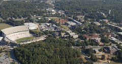 Campus from the south west (jmjordan) Tags: arial clemsonuniversity nikond200