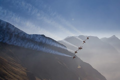 Patrouille Suisse (AviationPhoto.ch) Tags: alps canon eos 350d schweiz switzerland brienz suisse swiss tiger jet airshow canon350d alpen airforce canoneos350d f5 18200 soe patrouillesuisse sigma18200 axalp interestingness187 i500 shieldofexcellence diamondclassphotographer flickrdiamond fliegerschiessen sigma18200mmf3563dcos axalp2007 elessarch aviationphotoch wwwaviationphotoch