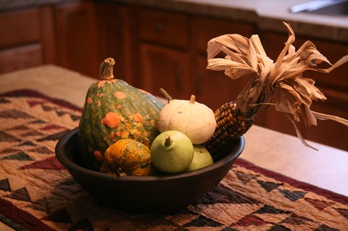 Autumn Harvest Decor