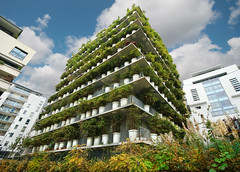 the vegetable building in Paris (*bratan*) Tags: plants paris france building architecture construction bravo searchthebest decoration pots themoulinrouge bratanesque lolfeelthepowerofcanono waitingforthenaughtybits