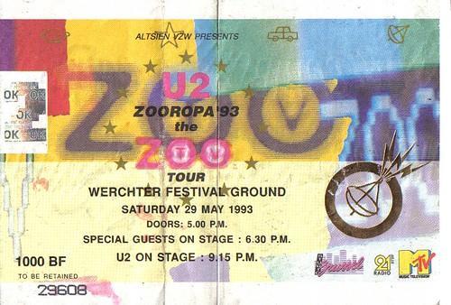 1993-05-29 Zooropa U2 à Wechter