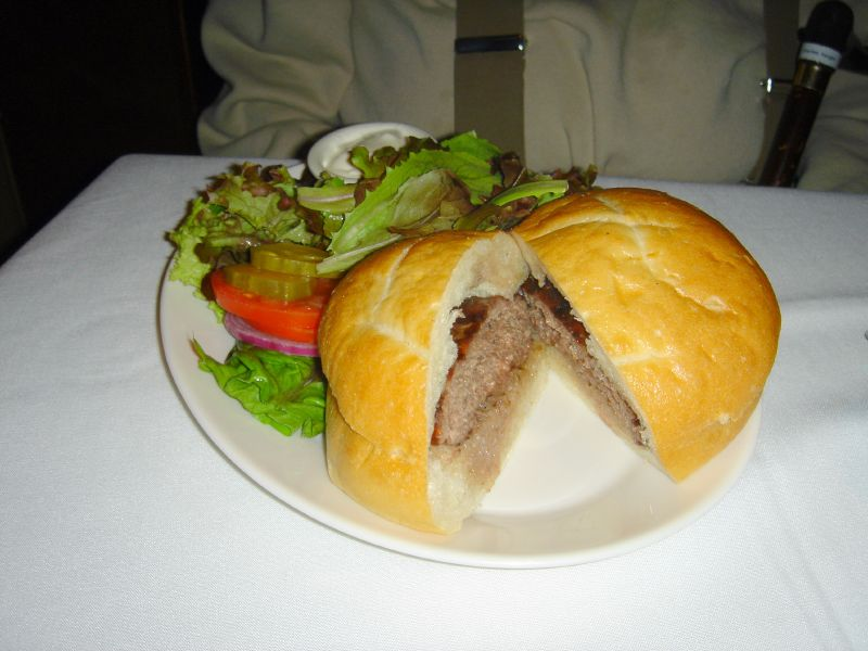 Sam's Burger with Niman Ranch Beef