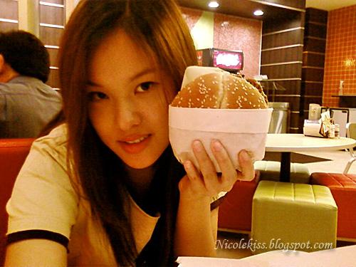 burger face