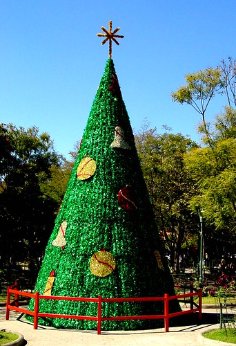 Christmas Tree in Antigua Guatemala Park