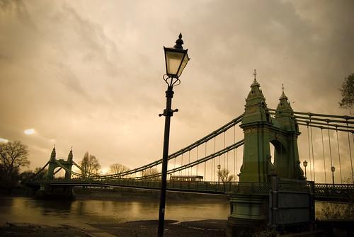 Hammersmith Bridge, Hammersmith