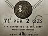 7½d PER 2ozs (Leo Reynolds) Tags: predecimal imperial leol30random duotone canon eos 30d 001sec f56 iso100 85mm 0ev groupsepiabw xleol30x hpexif xratio4x3x xx2007xx