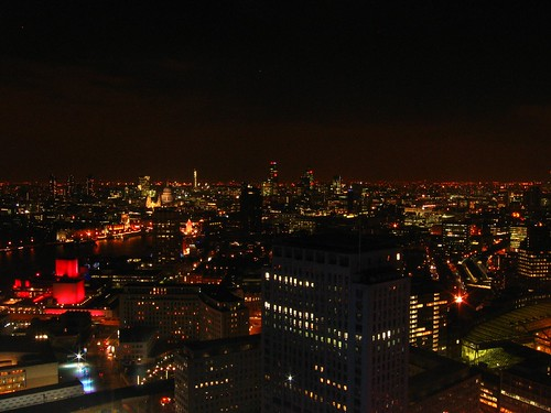 London - The London skyline at night 3