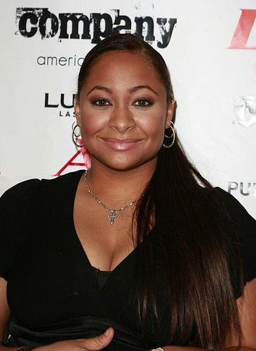 RAVEN SYMONE @ CRISS ANGELS BIRTHDAY PARTY