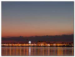 Portugal navideo (narcisopantunez) Tags: sunset color portugal rio canon atardecer barcos coche nocturnas isla guadiana canela ayamonte g9 abigfave narcisopantunez
