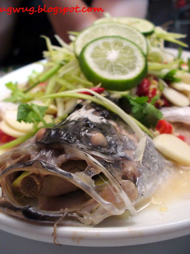 Steamed Fish ala Thai Style