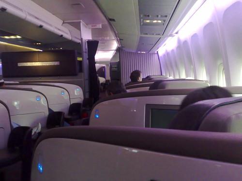 Virgin Upper Class seats