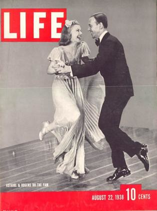 Fred Astaire - Ginger Rogers - Life Magazine 1938