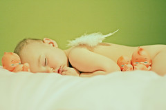 Four-ty Winks (boopsie.daisy) Tags: sleeping baby cute green dolls nap sweet sleep wing adorable content sadie precious snooze napping year2 doze darling 16months snoozing fortywinks kewpies