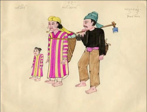 Tribes of Burma - Yang Hsek 1900