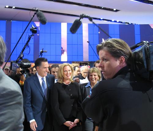 mitt and ann romney. Mitt and Ann Romney and a