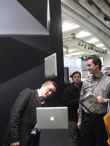 MacBook Air & Admirer