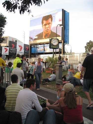 Tsonga on the big screen