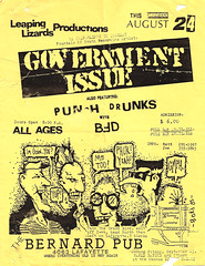 Government Issue Flyer