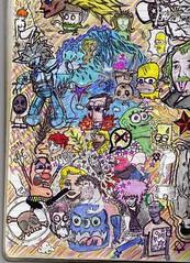 borrador (♦Static♦) Tags: verde monster rojo conejo einstein estrellas dibujos estrella mal violeta chaplin echos lineas borradores oopa