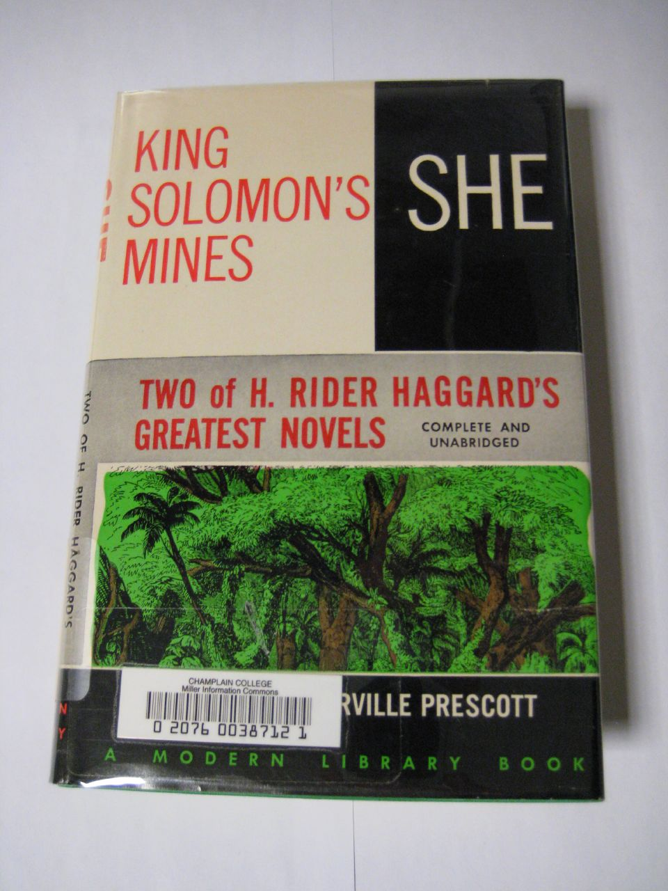 King Solomon's Mines by H. Rider Haggard, book.