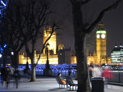 Westminster Houses Of Parliament (gundust) Tags: city uk greatbritain bridge england people panorama london tower glass westminster stone gardens thames architecture night skyscraper river lights march afternoon steel jubilee londoneye bigben southbank walkway 2008 streetscapes