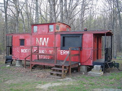 N&W caboose 530303 (DieselDucy) Tags: blue camp virginia nw day sony norfolk cybershot caboose ridge southern va dsct1 autism jaycee
