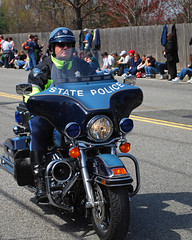 boston marathon 2008 (Paul Keleher) Tags: boston police motorcycle newton statepolice bostonmarathon massachusettsstatepolice patsday bostonmarathon2008