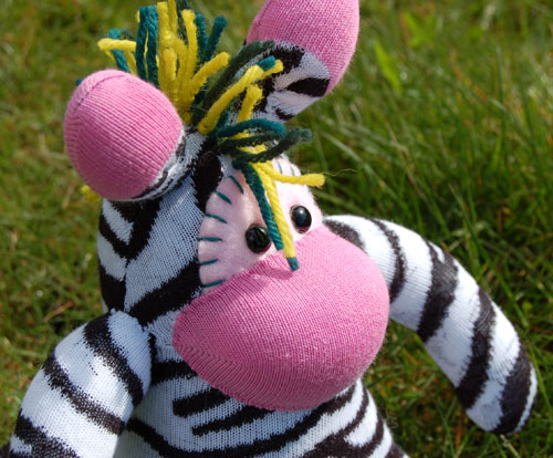 THE AMAZING PINK, SHORTLIMBED, ZEBRA-DEE