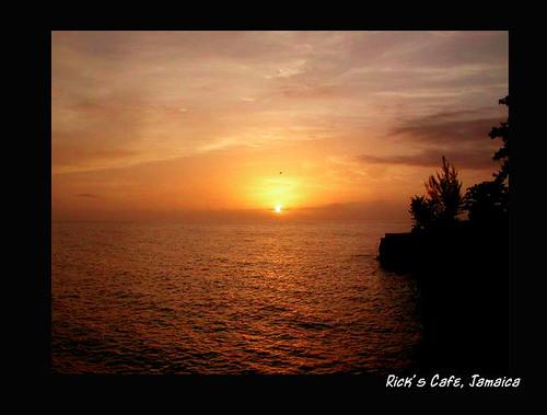 Sunset from Rick's Cafe by elen_uska_8.