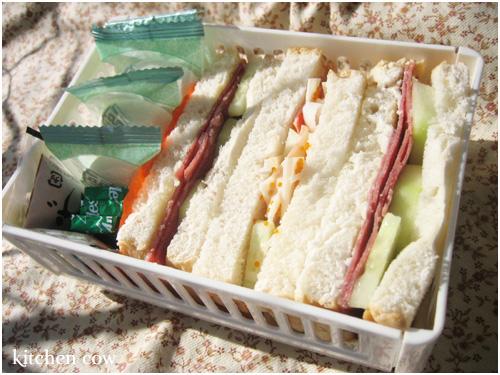 191 Sandwich Bento