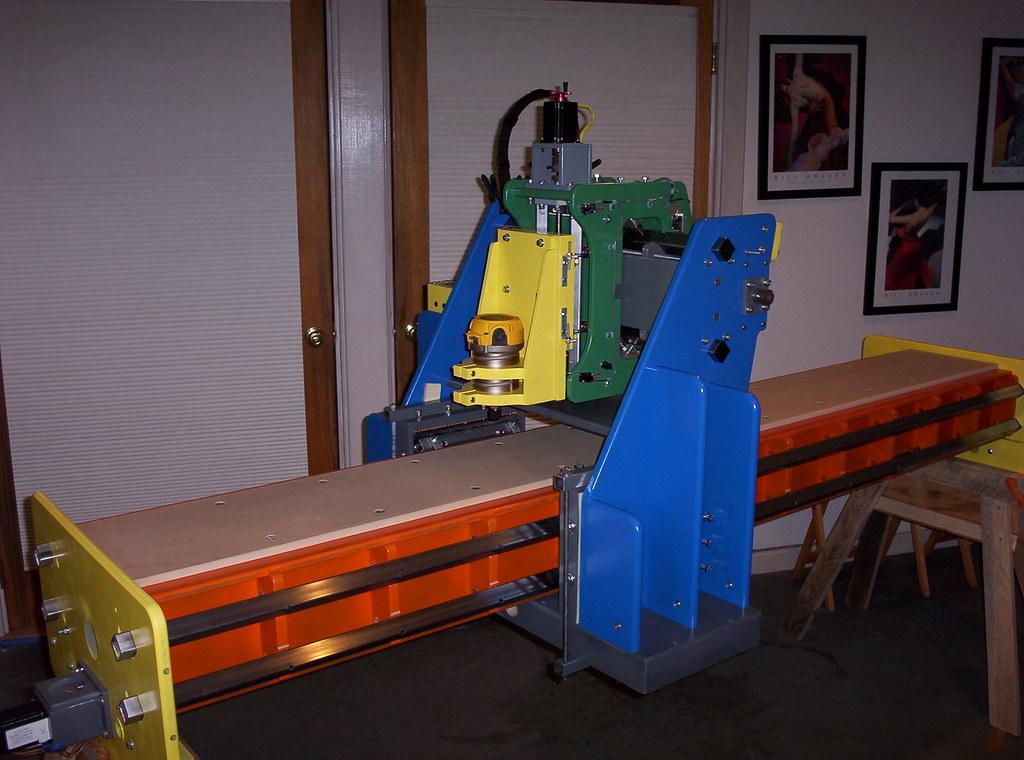 G-man's CNC machine is finally finished! - Ski Builders Forum