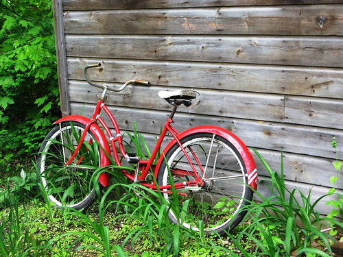 Red, Green, Bike
