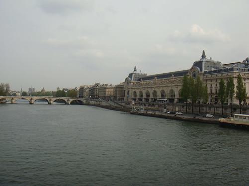 París visto desde uno de los puentes sobre el Sena