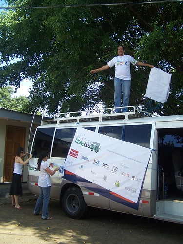 Decorando el bus