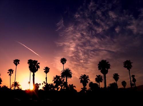 iPhoneography: Santa Barbara Sunset