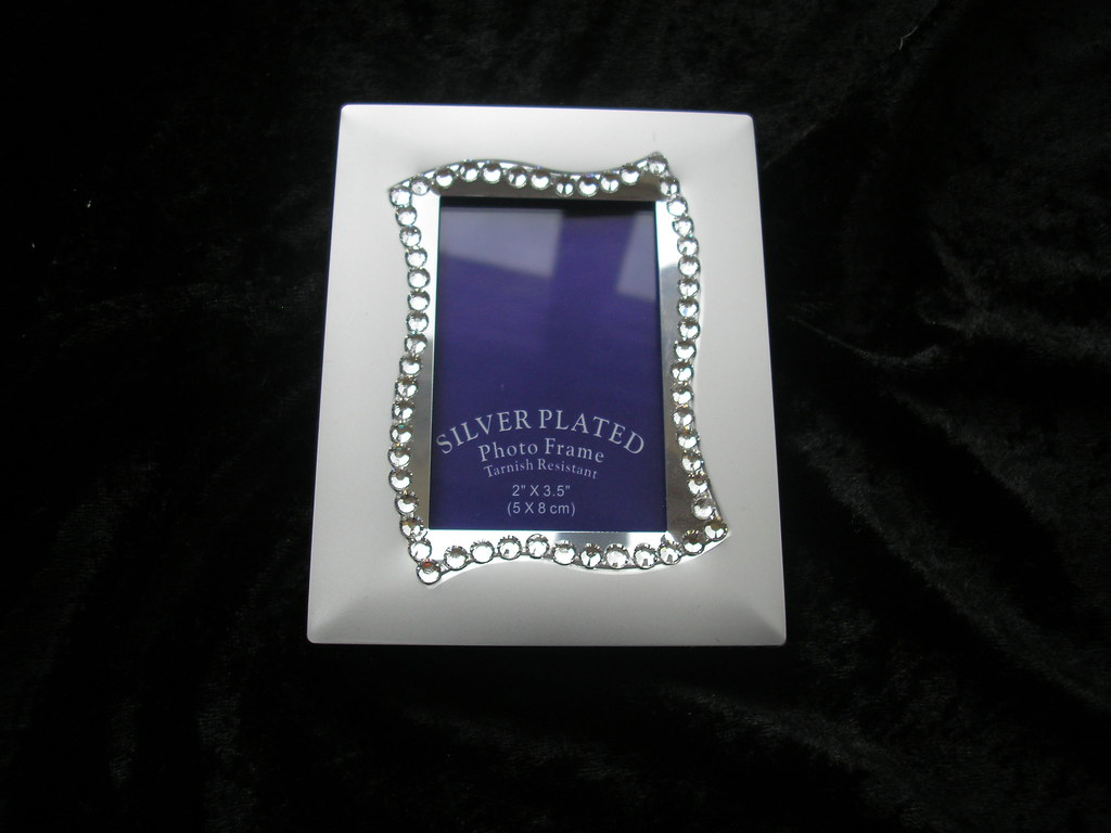 Small Silver Plated Photo Frame2