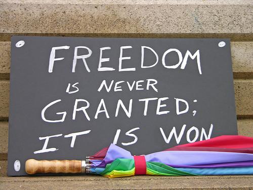 Freedom is Won